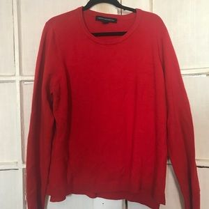 French Connection Red Sweater L